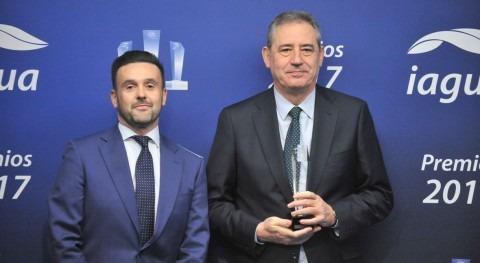 Aqualia se corona como Mejor Empresa Premios iAgua 2017