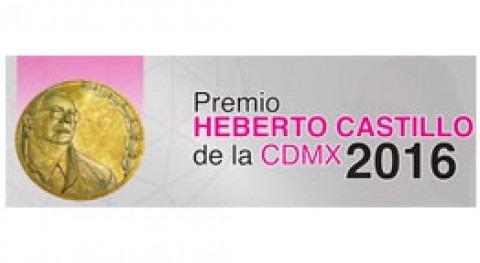 Convocado Premio Heberto Castillo Ciudad México 2016