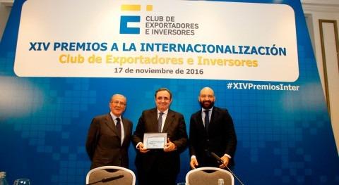Club Exportadores premia internacionalización INCLAM