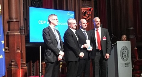 "ACCIONA, galardonada ""CDP Europe Awards"" gestión sostenible agua"