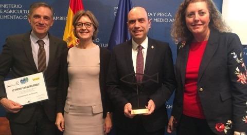 Alicante, ganador Premio Ciudad Sostenible categoría gestión ciclo agua