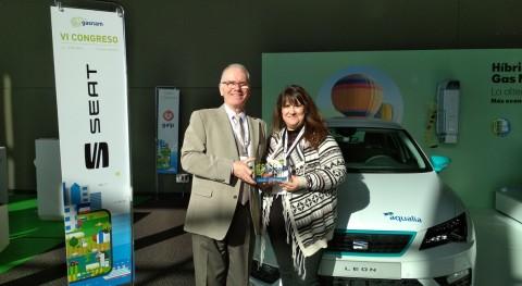 """Smart Green Gas, liderado Aqualia, mejor """"Proyecto Innovador"""" congreso GASNAM"""