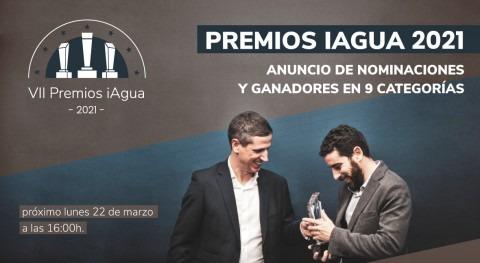 Premios iAgua anunciarán 9 ganadores y 25 nominados Día Mundial Agua