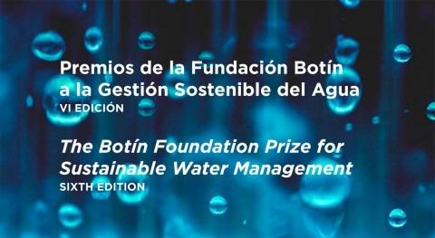 gestión sostenible agua tiene premio Fundación Botín