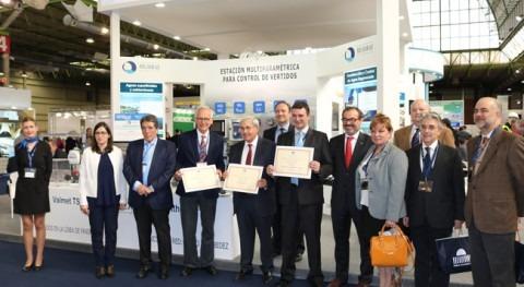 Grupo Mejoras recibe premio Novedad Técnica SMAGUA 2017, 3 productos