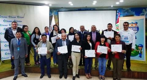 Perú premia cuidado y uso razonable agua potable docentes