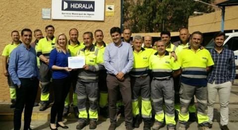 Hidralia celebra Día Salud Laboral reconocimientos trabajadores