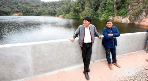 presa Chimeo abastecerá agua potable y riego más 6.000 familias Bolivia