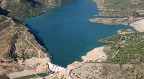Adjudicadas obras ampliar capacidad embalse Santolea (Teruel)
