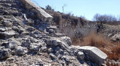 Mar Ontígola. mes después incendio. Inestabilidad presa
