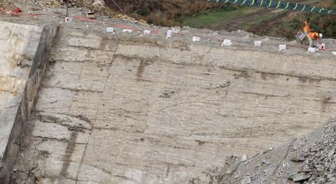 Demolición de la presa (MAGRAMA).