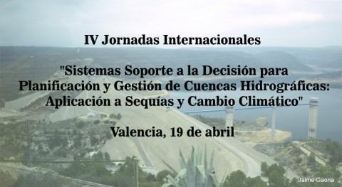 IV Jornadas Internacionales: Sistemas Soporte Decisión Planificación y Gestión Cuencas