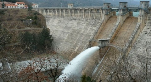 Se realiza desembalse controlado anual Eugui mejorar calidad agua embalsada