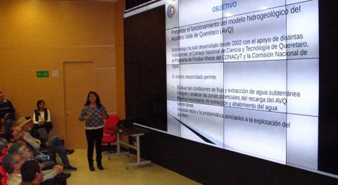 modelo numérico acuífero valle Querétaro México evalúa gestión