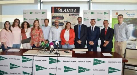 """Aqualia elimina 25.000 botellas plástico """"Talajara Mountain Bike"""" Talavera Reina"""
