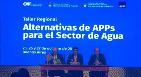 Presentadas Argentina alternativas Asociaciones Público Privadas sector agua