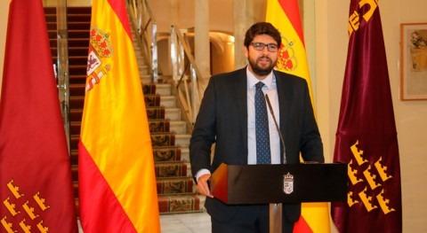 Gobierno Murcia expondrá Rajoy prioridades Región materia agua