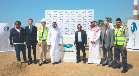 Almar Water Solutions celebra acto primera piedra desaladora Shuqaiq 3