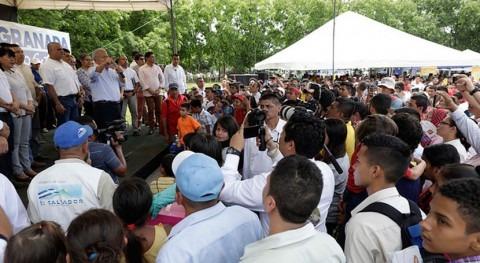 "Salvador Sánchez Cerén: "" Gobierno Salvador no va permitir que se privatice agua"""
