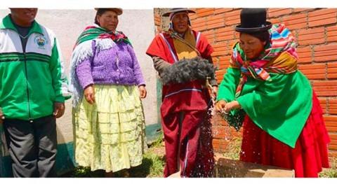 Cooperación Española y Unión Europea garantizan derecho agua y saneamiento Bolivia