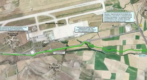 Comunicado URA dique defensa aeropuerto Foronda crecidas Zalla