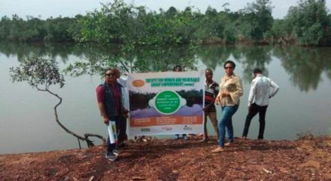 mujeres defienden conservación manglares Nigeria