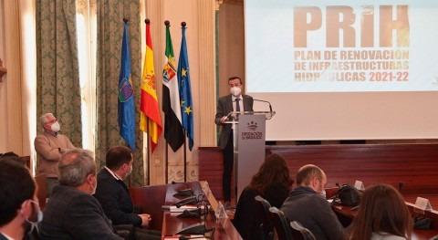 Promedio pone disposición 1,2 millones euros mejora redes abastecimiento