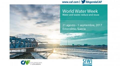 CAF busca propuestas Semana Mundial Agua 2017