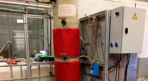 Patentado sistema depuración aguas industriales