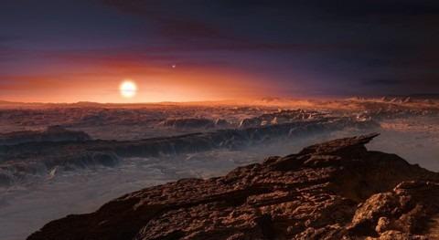 Próxima b, planeta que podría albergar agua y vida
