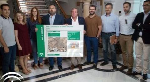 Andalucía anuncia inicio trabajos previos construcción EDAR Arjonilla