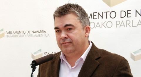 El portavoz socialista, Santos Cerdán.