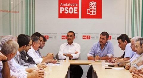 """""""Somos defensores agricultura Condado y vamos estar regantes"""" defiende PSOE Huelva"""