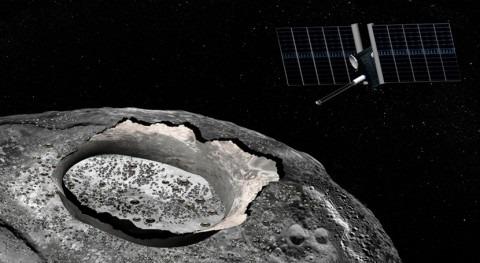 Psyque, asteroide metálico más grande Sistema Solar, podría tener agua