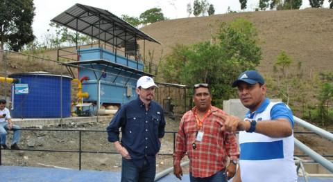 Ecuador entregará planta potabilizadora agua Sucre