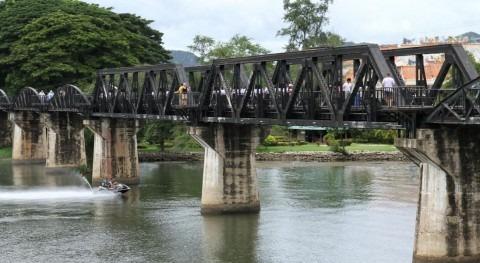 Actual puente sobre el Río Kwai (Brian Fagan, Flickr/CC)
