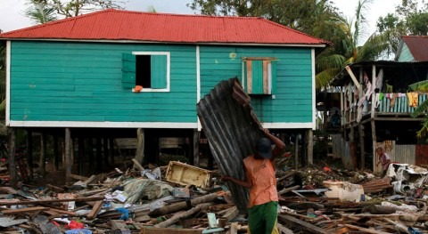 Nicaragua: cuatro meses huracanes Eta e Iota, medio millón personas sigue agua