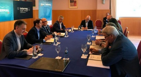 Constituida Junta Directiva que gestionará proyecto europeo Poctep Raia Termal