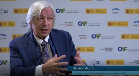 """Ramiro Aurín: """" sector agua España es sector importante y conocimiento"""""""