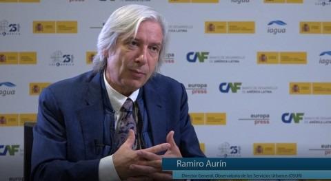 """Ramiro Aurín: """" España hemos entendido que gestionar bien agua pasa porque esté salvo"""""""