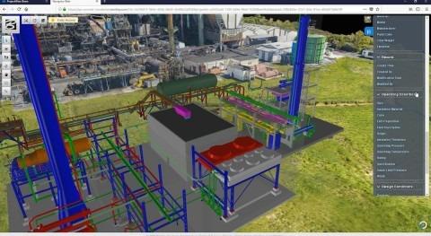 Siemens y Bentley Systems anuncian servicios nube gemelos digitales PlantSight