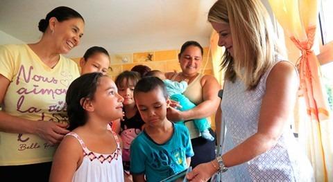 Avanza reconstrucción Salgar inundaciones Colombia