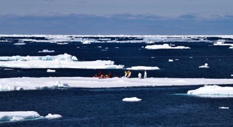 hielo marino Antártida cae 10% respecto al mínimo anterior
