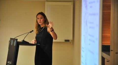 """Jacquelin Reed: """" Ángeles buscamos reducir dependencia agua importada"""""""