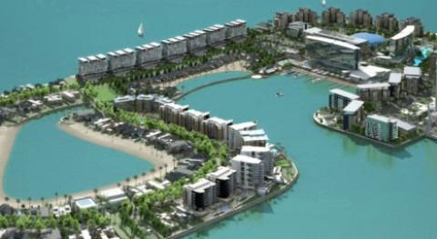 Inauguración resort Reef Island Baréin