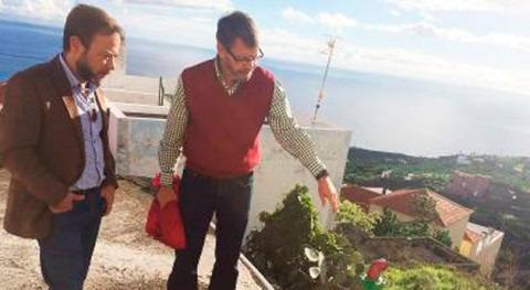 Canarias invierte 1,56 millones euros obras regadío San Andrés y Sauces