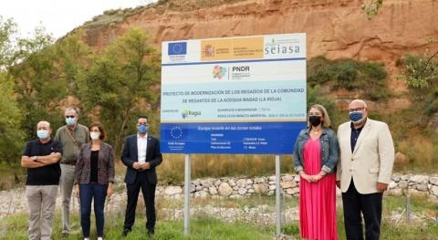 MAPA destina 5,4 millones euros modernizar 1.766 hectáreas regadíos Rioja