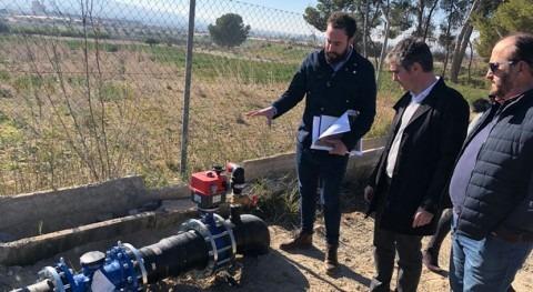 comunidad regantes Totana ahorra 10% agua al sustituir canalización tradicional