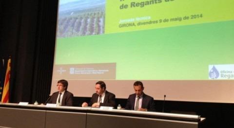 Ramón Carné, nuevo presidente recién creada Asociación Catalana Comunidades Regantes