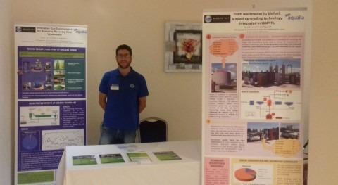 Aqualia presenta Regatec, celebrado Verona, más recientes avances materia biogás